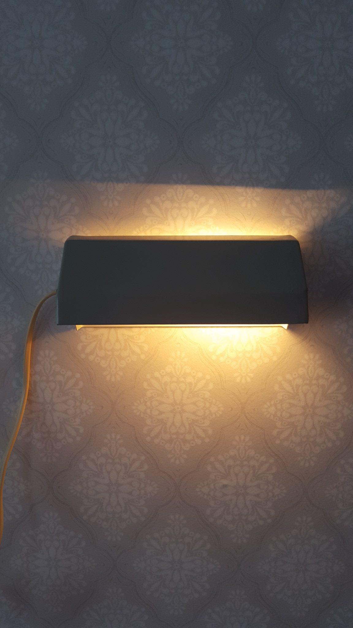 sänglampa vägg