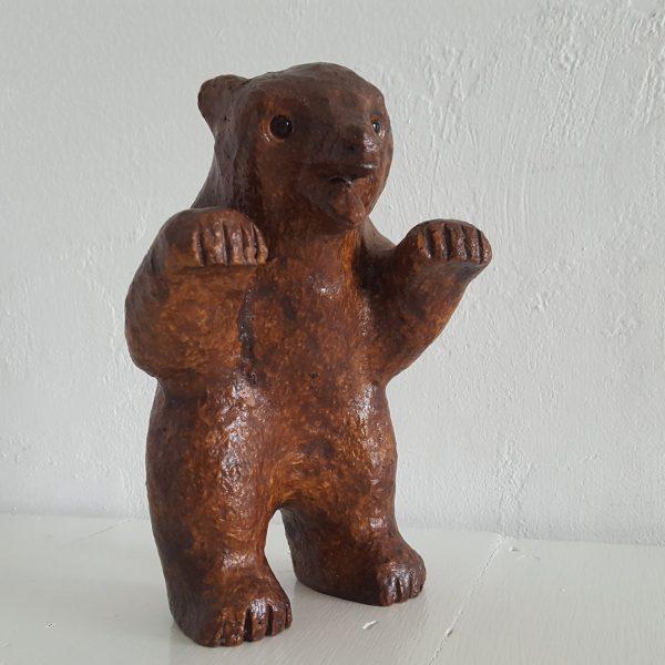 skulptur-figurin-liten-björn-hammerdal-2