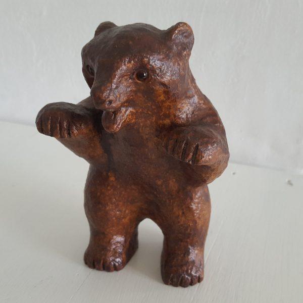 skulptur-figurin-liten-björn-hammerdal-7