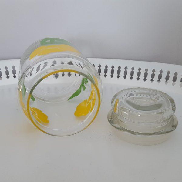 förvaringsburk-glasburk-retro-gul-blomdekor-2