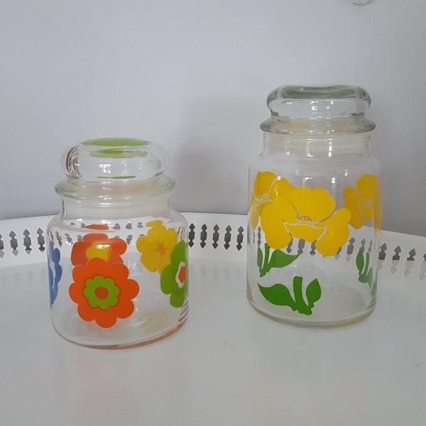 förvaringsburk-glasburk-retro-gul-blomdekor-4
