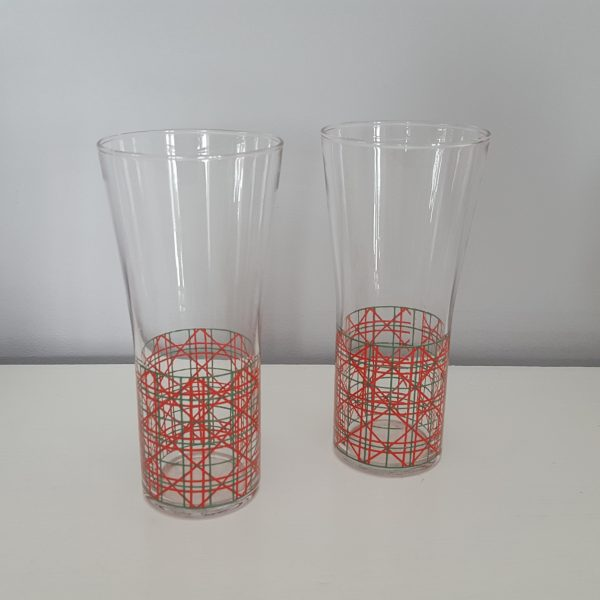 dricksglas-med-rutigt-mönster-vintage-3