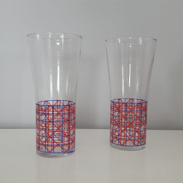 dricksglas-med-rutigt-mönster-vintage-4
