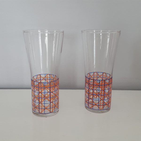 dricksglas-med-rutigt-mönster-vintage-5