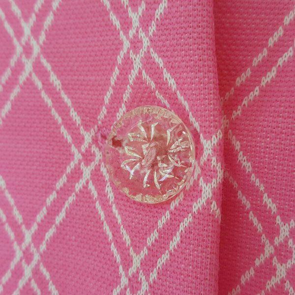 sommarklänning-rosa-&-vit-rutigt-vintage-5