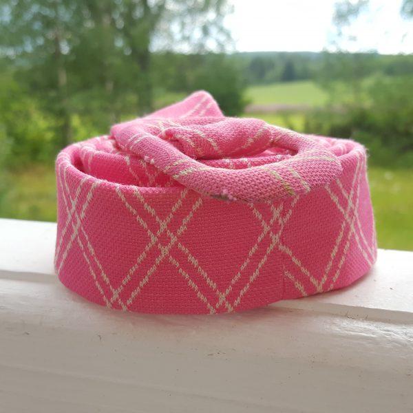 sommarklänning-rosa-&-vit-rutigt-vintage-8