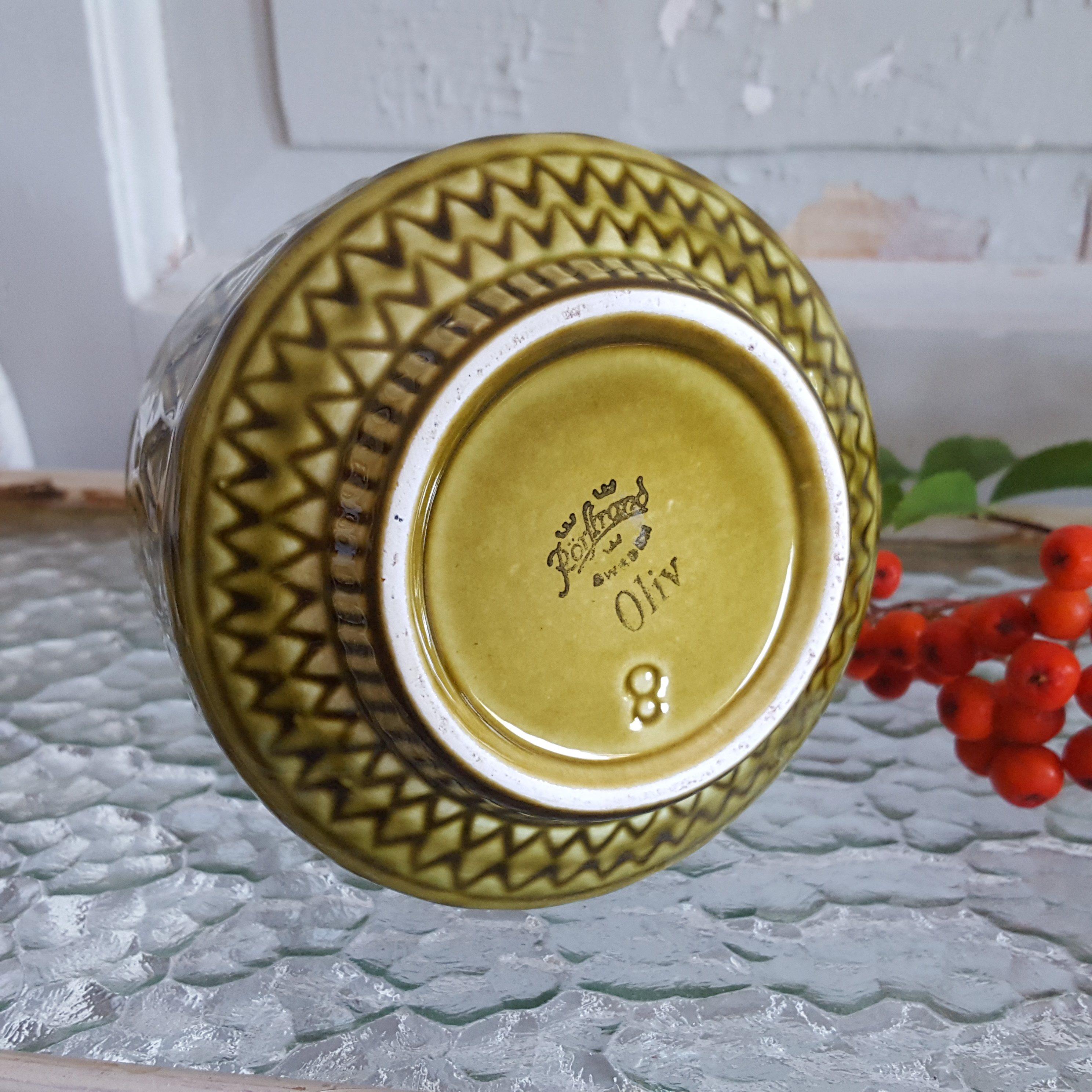 rørstrand keramik Vas   Oliv   Rörstrand   Keramik   Retrolivet rørstrand keramik