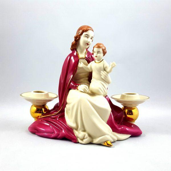 ljusstake-jungfru-maria-&-Jesus-gerold-&-co-bavaria-1