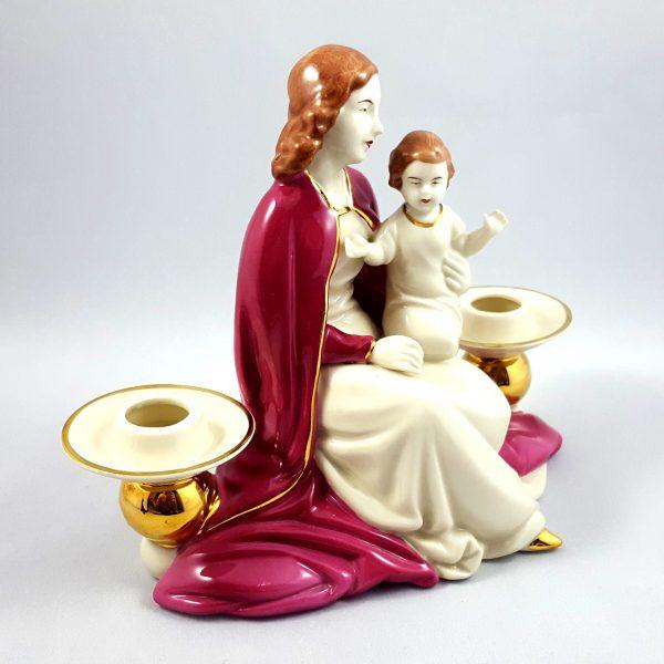 ljusstake-jungfru-maria-&-Jesus-gerold-&-co-bavaria-2