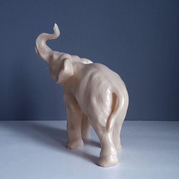 elefant-staty-benvitt-täljsten-4