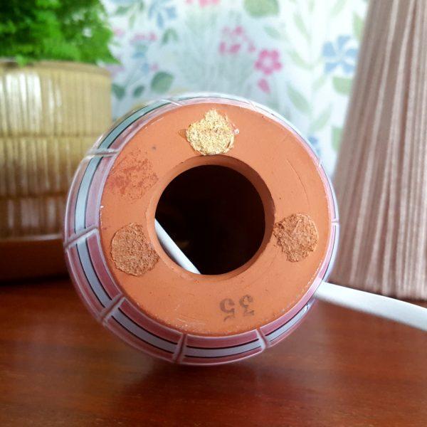 bordslampa-keramik-rosa-&-vit-vintage-7