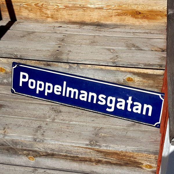 gatuskylt-poppelmansgatan-emaljskylt-vintage-4