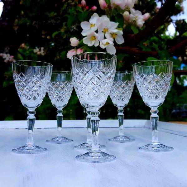ett-par-likörglas-slipad-dekor-cristal-d'arques-1