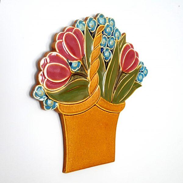 blomsterkorg-väggplatta-gustavsberg-margareta-hennix-2