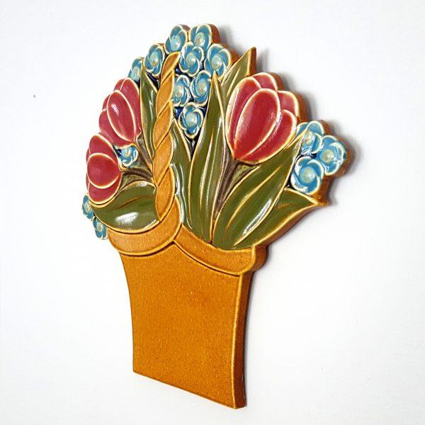 blomsterkorg-väggplatta-gustavsberg-margareta-hennix-3