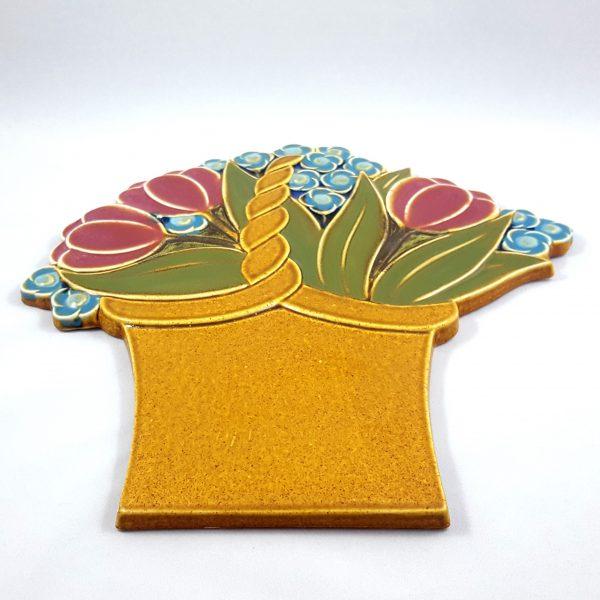 blomsterkorg-väggplatta-gustavsberg-margareta-hennix-5