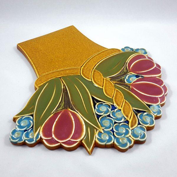 blomsterkorg-väggplatta-gustavsberg-margareta-hennix-9
