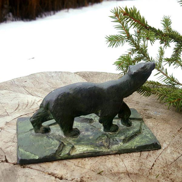 skulptur-brevpress-isbjörn-gjutjärn-art-deco-5