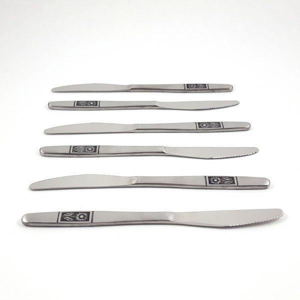 bestick-18-del-solros-rostfritt-stål-vintage-7