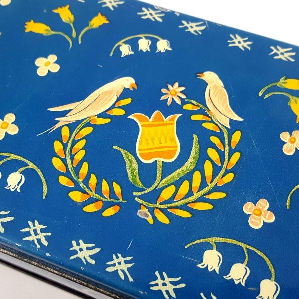 plåtburk-blommor-&-fåglar-allmoge-dekor-gevalia-rosteriet-gefle-10