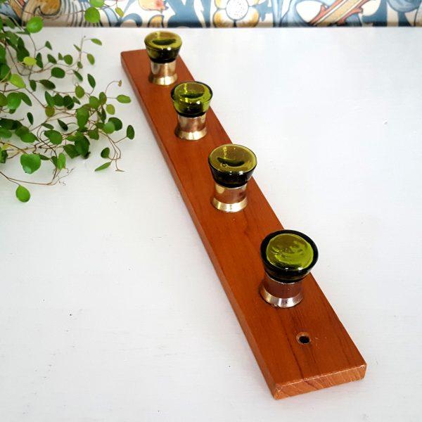 kroklist-hängare-teak-grön-glas-1