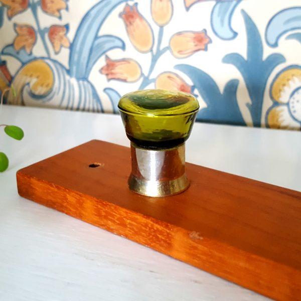 kroklist-hängare-teak-grön-glas-5